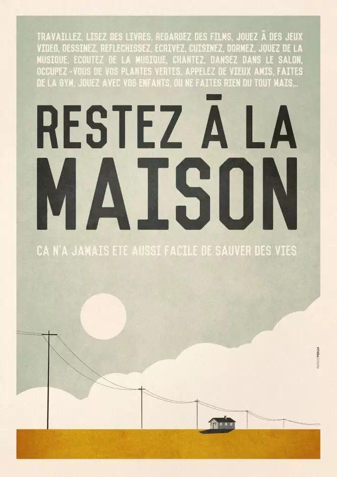 RESTEZ À LA MAISON